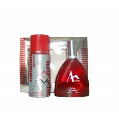 Akat 2000 Warm Red EDT 100ML Erkek Parf�m� + Deo