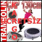 Tambolin Pilates Trampolin Fitness Gym 130cm IP2