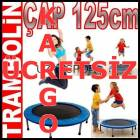 Tambolin Pilates Trampolin Fitness Gym 122cm YI6
