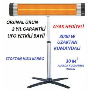 Ufo 3000W Kumandal� �nfrared Is�t�c� S30 AYAKLI
