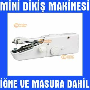 Sewing Portatif Mini Diki� Makinas� Makinesi Set