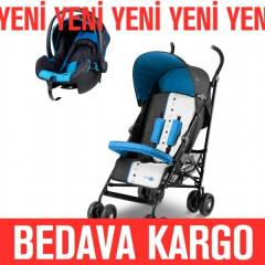 Baby 2 Go Light Travel Sistem Bebek Arabas� Mavi
