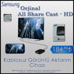Samsung All Share Cast Kablosuz G�r�nt� Aktar�m