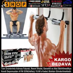 Iron Gym Kap� Barfiksi ve ��nav Aleti -OR�J�NAL