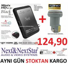 NEXT & NEXTSTAR M�N�X BLACK FULL HD UYDU ALICI