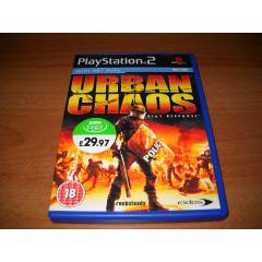 "PlayStation2 Oyun ""URBAN CHAOS"""