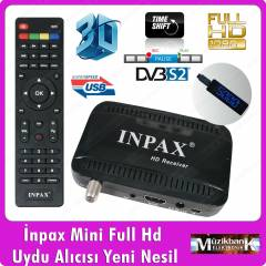 �npax X-111 Mini Full HD  Uydu Al�c�s� Usb'li