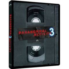 Paranormal Activity 3 Steel Book BD + DVD Combo