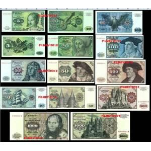 ALMANYA *5*10*20*50*100*500*1000* DEUTSCHE MARK