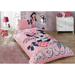 Ta� Minnie Mouse Dream Tek Ki�ilik Nevresim Takm