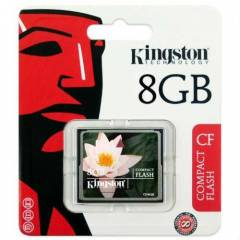 Kingston 8Gb Compact Flash �cretsiz Kargo