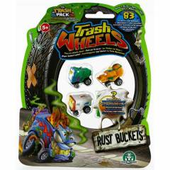 Trash Wheels ��ps Tekerler 4l� Paket Rust Buck