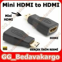 Mini Hdmi to Hdmi - Mini Hdmi Erkek to Hdmi Di�i