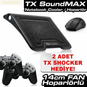 TX SoundMax 2x3W Hoparl�rl� Notebook So�utucu