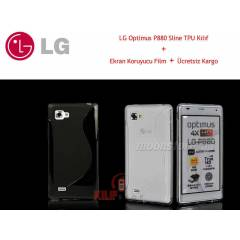 LG Optimus 4X HD P880 Sline TPU K�l�f +2 Film