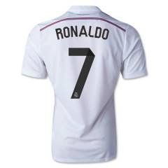 2014-2015 Real Madrid RONALDO FORMA Home