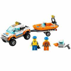 Lego City 4x4 Diving Noat Oyun Seti