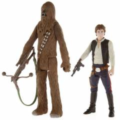 Star Wars Han Solo Ve Chewbacca �kili Fig�r