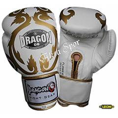 Dragon Flower Boks Ve K�ck-box Eldiveni White
