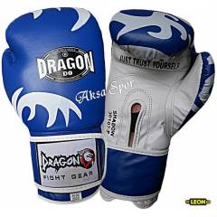 Dragon Shadow Boks ve Kick-boks Eldiveni Mavi