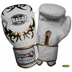Dragon Tatto Boks Ve K�ck-boks Eldiveni Beyaz Rk