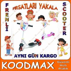 3 Tekerlekli Frenli Scooter - Made in TURKEY