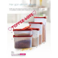 TUPPERWARE OVAL SET 5 L� YOK SATANLAR L�STES�ND