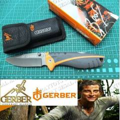 GERBER �AKI BI�AK MYTH POCKET FOLDER BEAR GRYLLS