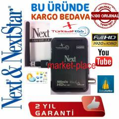 Next Minix HD Black Plus Full HD Uydu Al�c�+W�F�