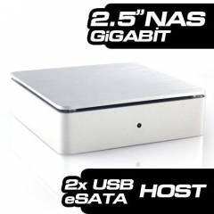 "SilverStone DC01 Data Center 3.5"" Nas Kutusu"