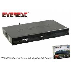 Everest DVD-N80 5.1Ch + Anfi+ Speaker DVD PLAYER