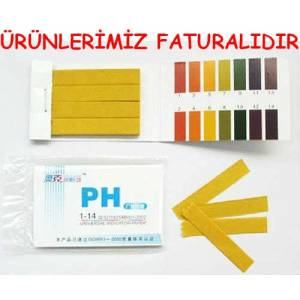 PH TEST KA�IDI 1-14 PH �L�ER, PH METRE 80 ADET