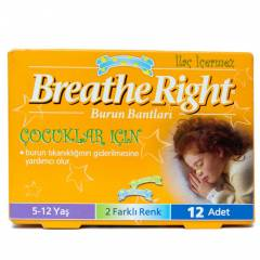 BREATHE RIGHT BURUN BANDI 12 L�