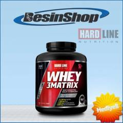 HardLine Whey 3Matrix - 2300 gr - Chocolate