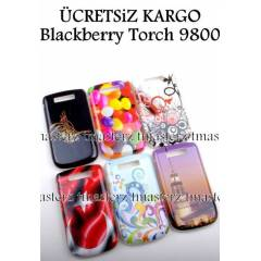 Blackberry Torch 9800 Kapak K�l�f Unique