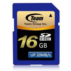 Team 16GB Class 10 SDHC SD Haf�za Kart� (OUTLET)