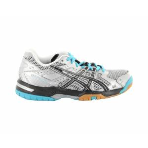 Asics GEL ROCKET 6 SILVER BLACK ICE BLUE GEL ROC