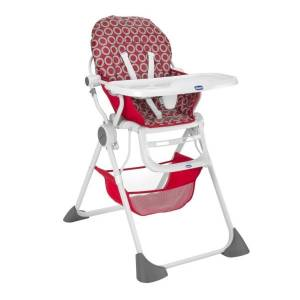 Chicco Pocket Lunch Mama Sandalyesi Red Wave