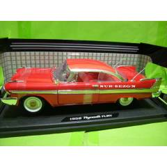 MODEL ARABA1:18 1958 PLYMOUTH FURY KIRMIZI