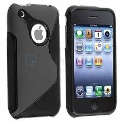 iPhone 3G - 3GS K�l�f TPU S�L�KON