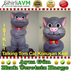 OR�J�NAL Tom Cat Konu�an Kedi Oyuncak B�y�k Boy