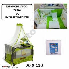 PAPETTO 70x110 OYUN PARKI+VISCO YATAK BE��K SET