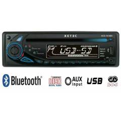 XETEC XCD-7310BR CD/BLUETOOTH/USB/SD TYEP