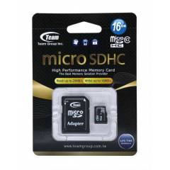 Team Micro SD 16GB Class10 Flash Haf�za Kart�