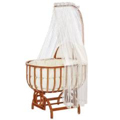 Baby Tech 112 Sarayl� Ah�ap Bebek Be�i�i Naturel