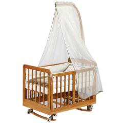 Baby Tech 186 Kral Mini 50x90 Ah�ap Be�ik  Natur