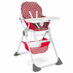 Chicco Pocket Lunch Mama Sandalyesi Red Wawe