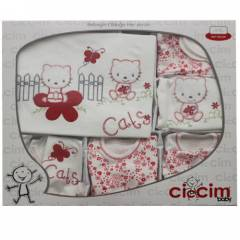 Ciccim 2358 Hastane ��k��� 11li Set Sweet Cat �i