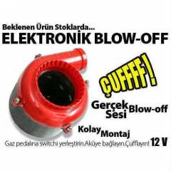 Elektronik Blow Off Valfi