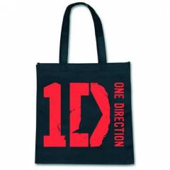 Lisansl� One Direction Siyah Logo �anta
